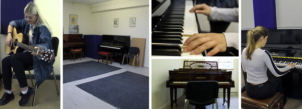 Music practice and teaching rooms in bristol