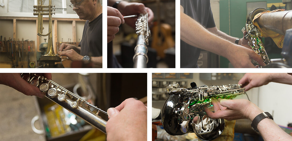 mickleburgh expert brass and woodwind instrument servicing