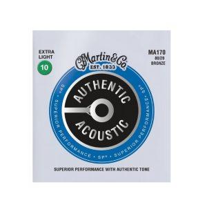 Martin 80/20 Bronze MA170 Extra-Light Acoustic Set