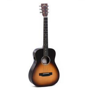 Sigma TT-12E-SB+ Travel Guitar & Bag