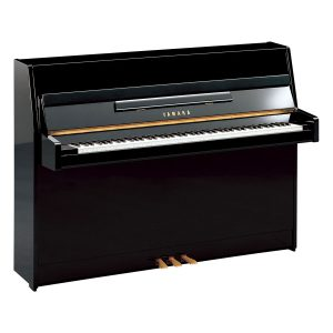 Yamaha B1 Upright Piano Polished Ebony