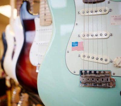Electric Guitars at Mickleburgh