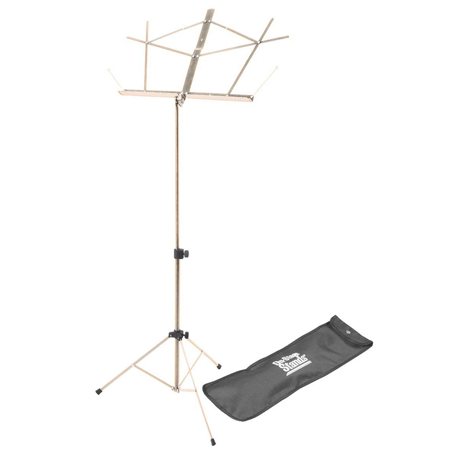 On Stage SM7122NB Folding, Nickle Finish Music Stand