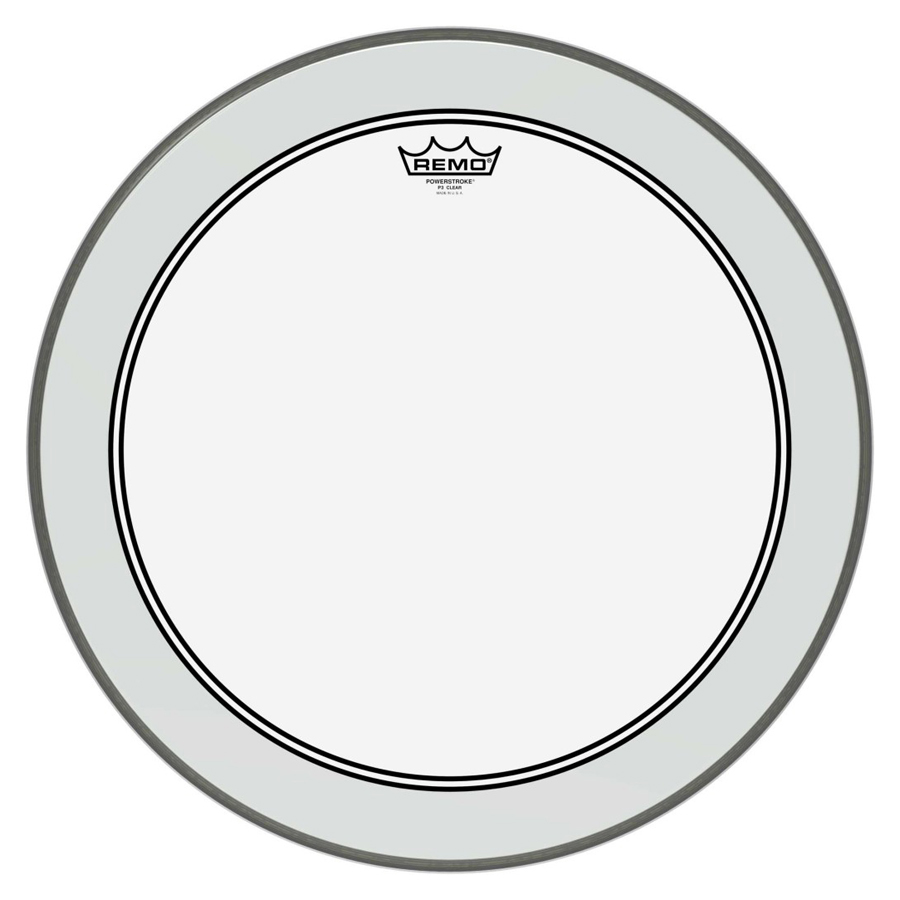 "Remo P3-1322-C2, Powerstroke 22"" Bass Drum Head"