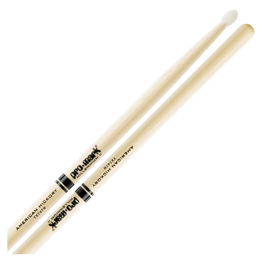 Promark 747 Nylon Tip Drum Sticks