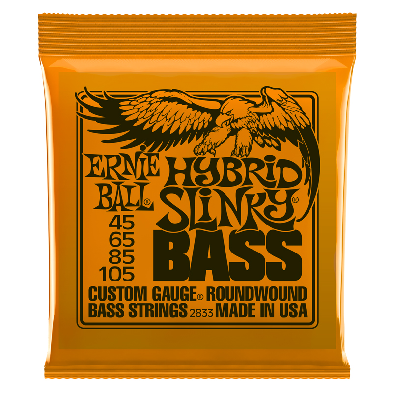 Ernie Ball Hybrid 45-105 Bass Set