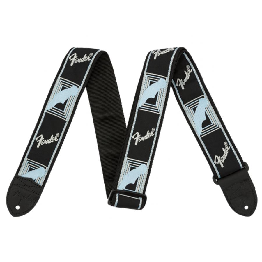 Fender Mono Strap Grey/Blue Guitar Strap