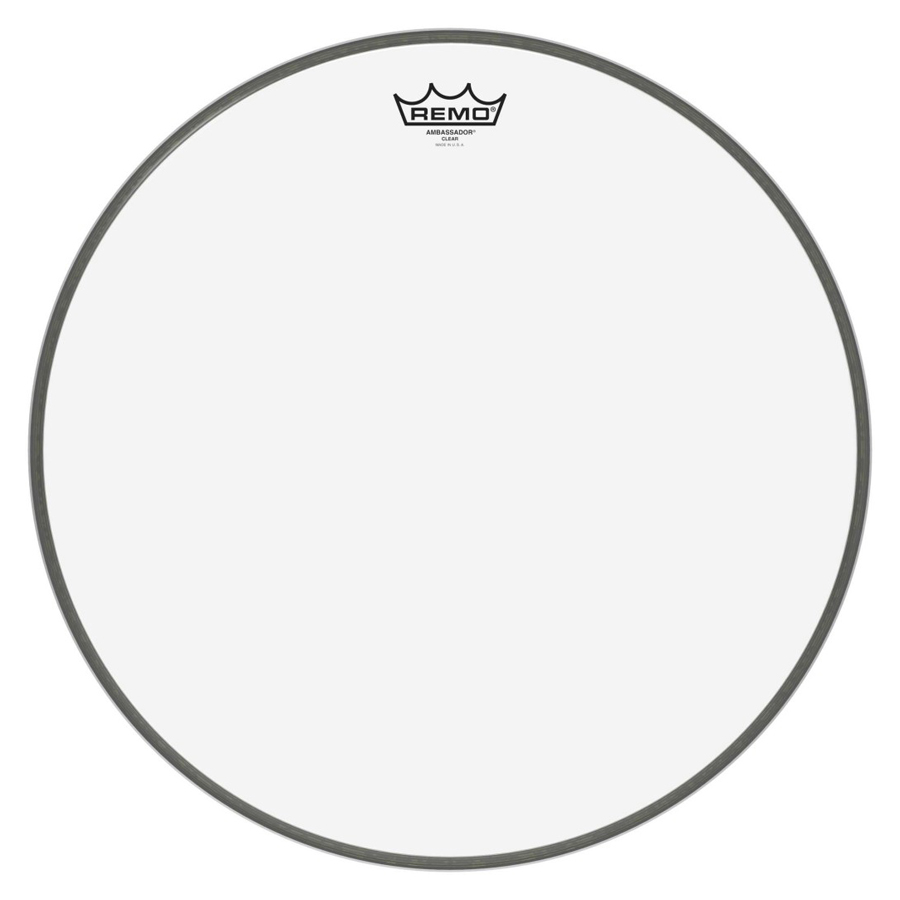 "Remo BR-1318-00, Ambassador Clear, 18"" Bass Drum Head"