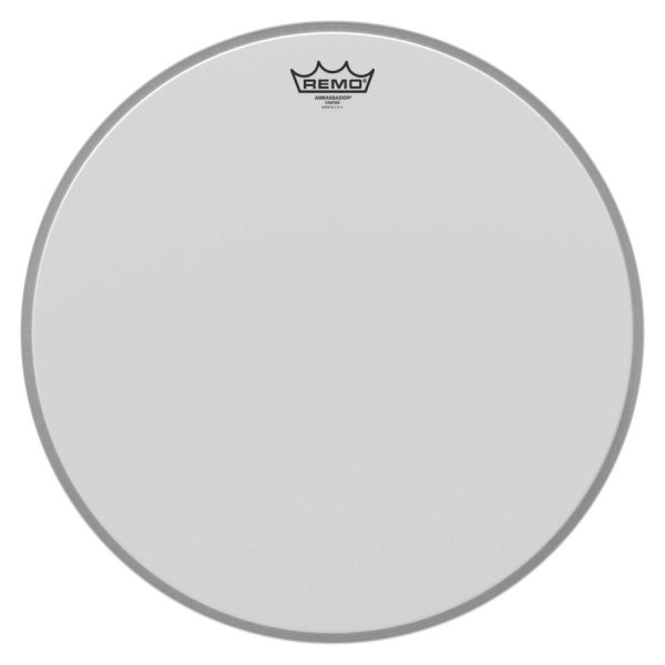 "Remo BR-1118-00 | Ambassador Coated, 18"" Bass Drum Head"