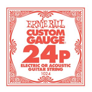 Ernie Ball Plain .024 Guitar String