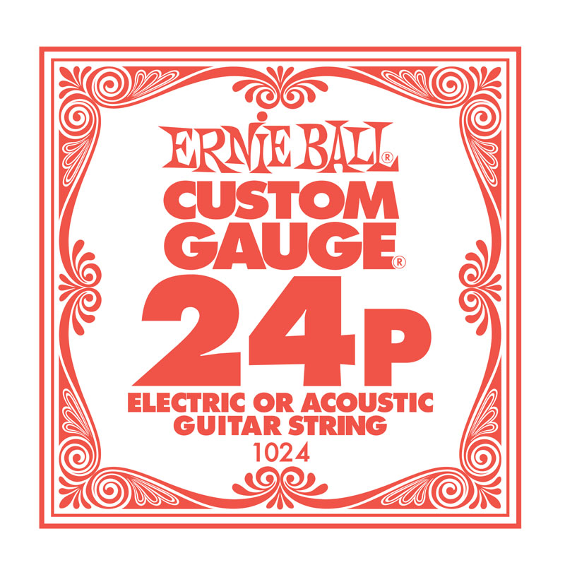 Ernie Ball Plain .024 Guitar String