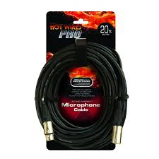On Stage Neutrik MC-20NN 20' XLR Microphone Cable