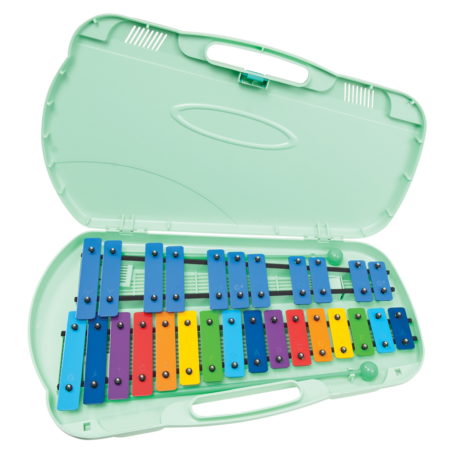 Angel AX27N 27 Note Coloured Glockenspiel