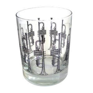 Trumpet Design  Glass Tumbler