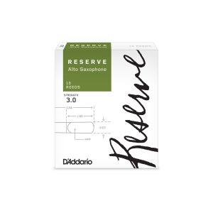 Reserve by D'Addario 3 (Box of 10) Alto Sax Reeds