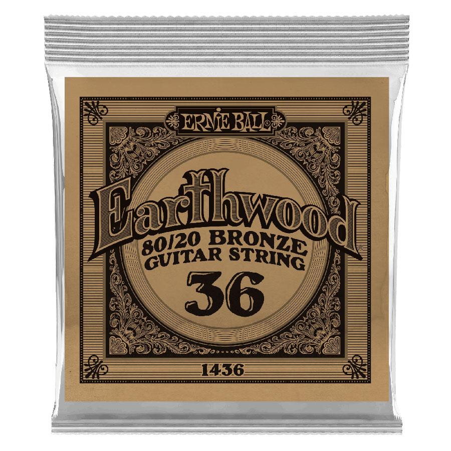 Ernie Ball Earthwood 80/20 Bronze .036 Guitar String