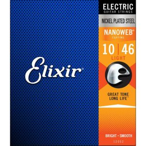 Elixir Nano, Custom Light .009-.046 Electric Guitar Strings