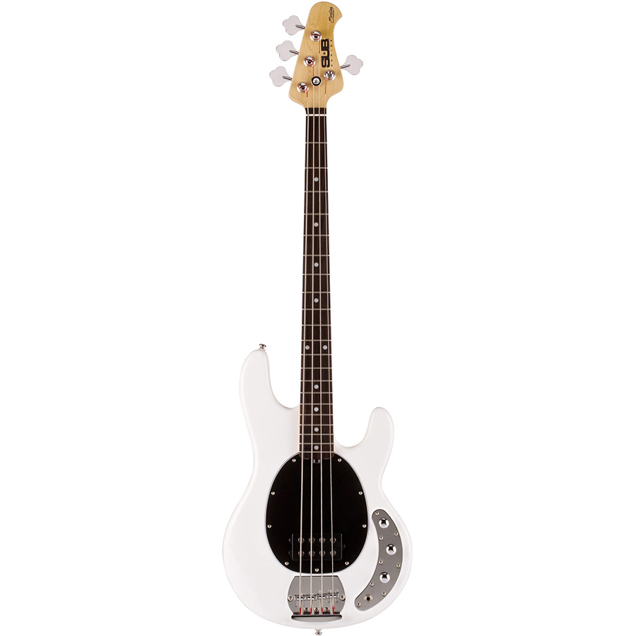 musicman sterling stingray sub 2beq white bass guitar mickleburgh musical instruments. Black Bedroom Furniture Sets. Home Design Ideas