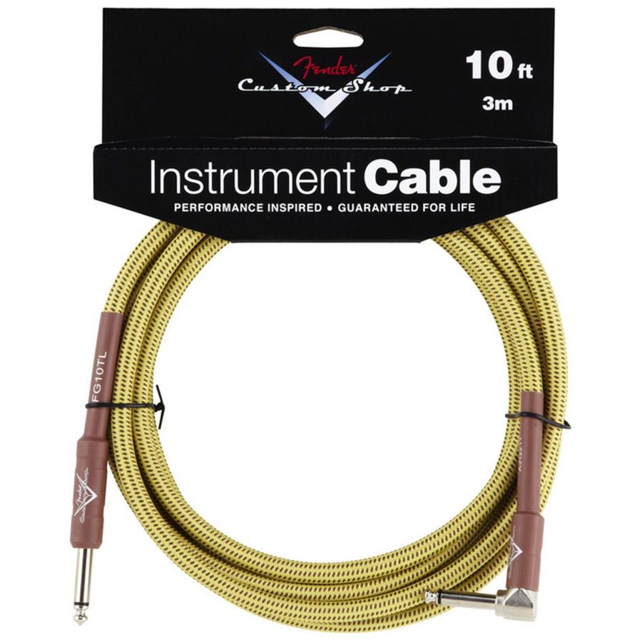 Fender Custom Shop 10ft, Tweed Instrument Cable
