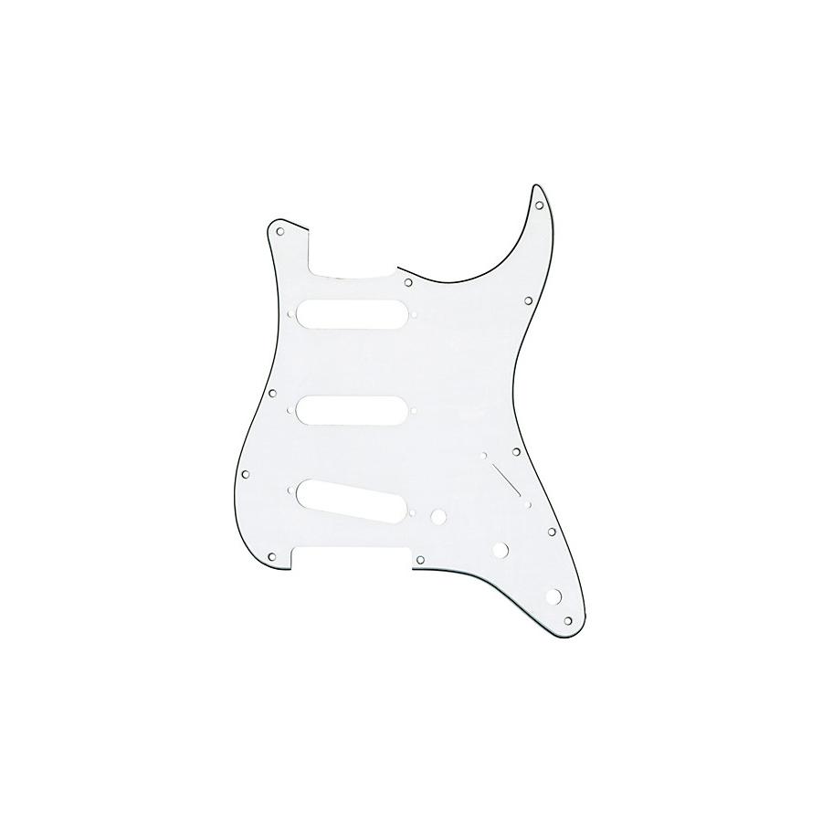 Fender Stratocaster White Pickguard