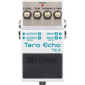 Boss TE2 Tera Echo  Effects Pedal