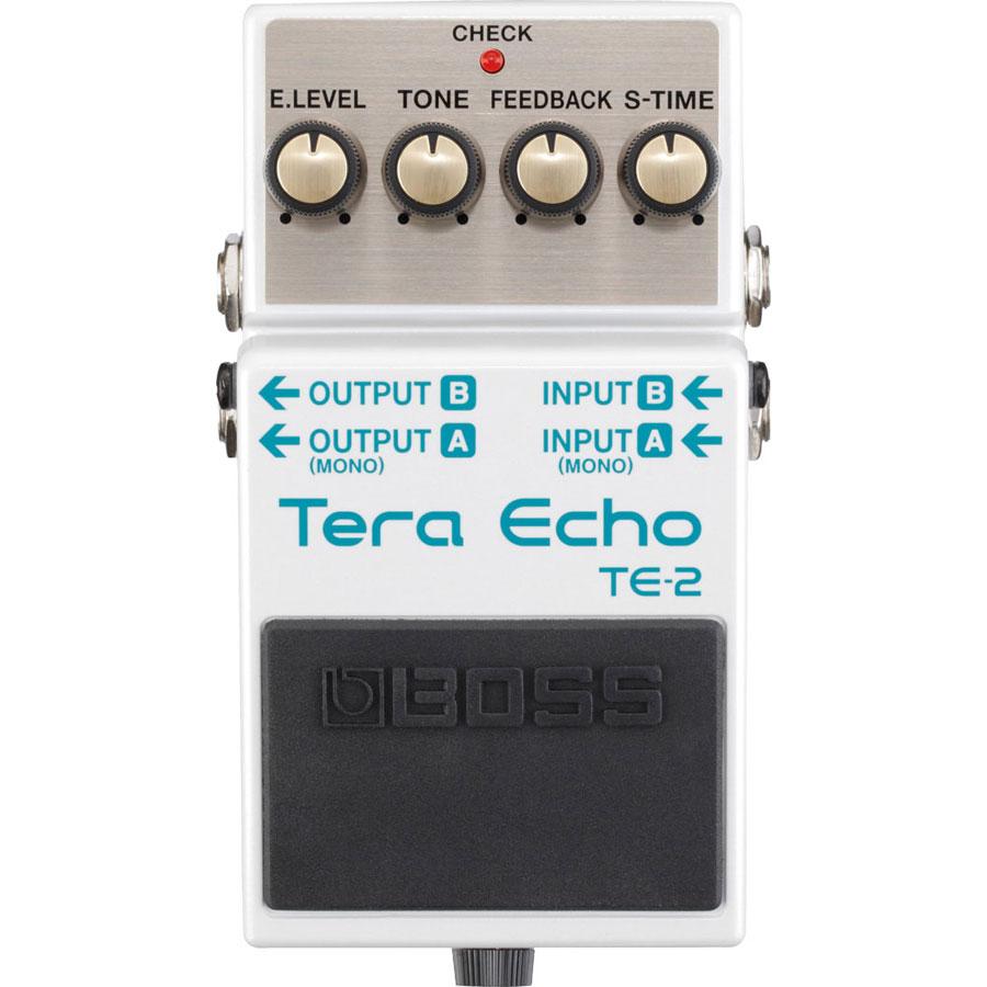 Boss TE2 Tera Echo Effects Pedal