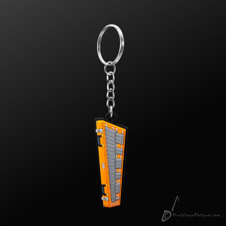 Musician Designer Bell Keyring