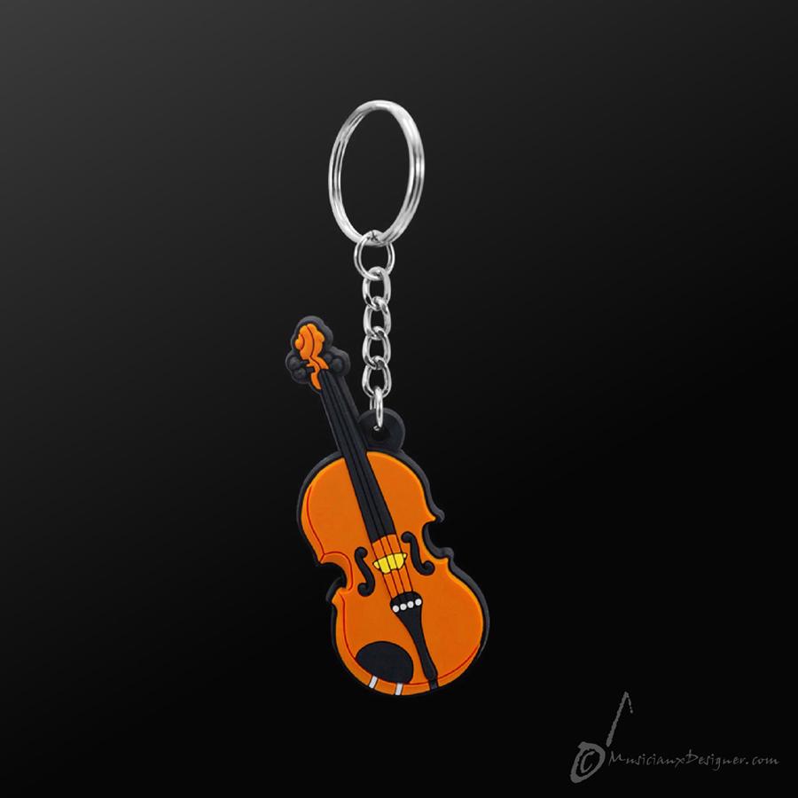 Musician Designer Violin Keyring