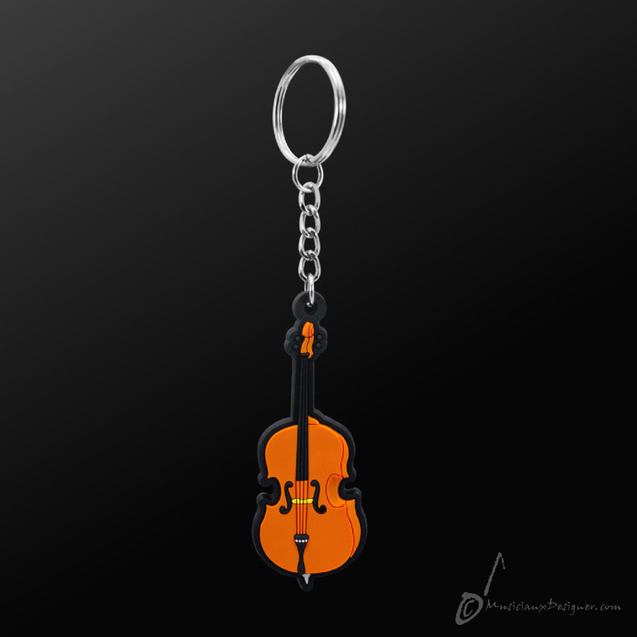 Musician Designer Cello Keyring