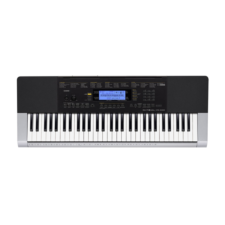 Casio CTK4400  Keyboard