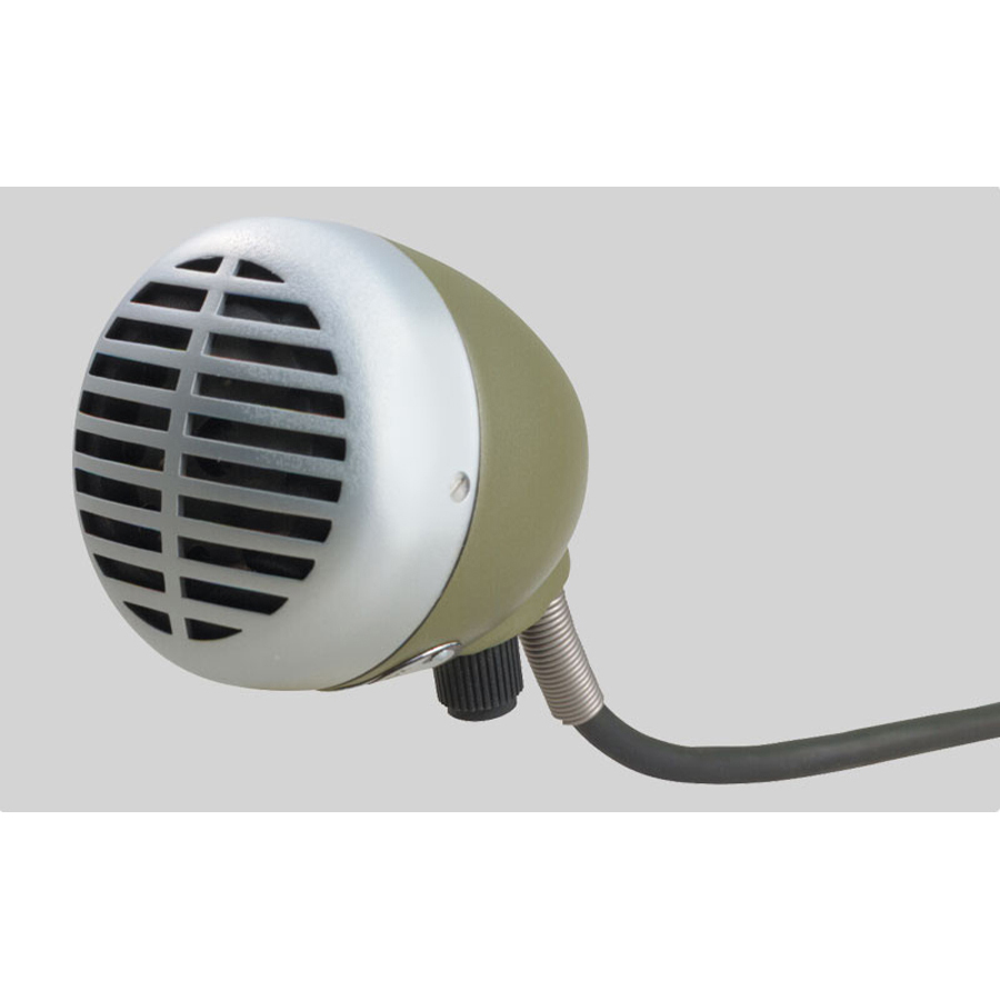 Shure 520DX Green Bullet Microphone