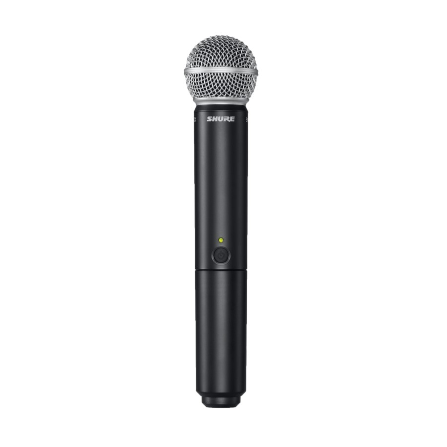 Shure BLX24UK/SM58 Radio Microphone System - Mickleburgh Musical ...
