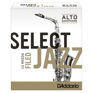 D'Addario Jazz Select Filed, 3S, Each Alto Reed