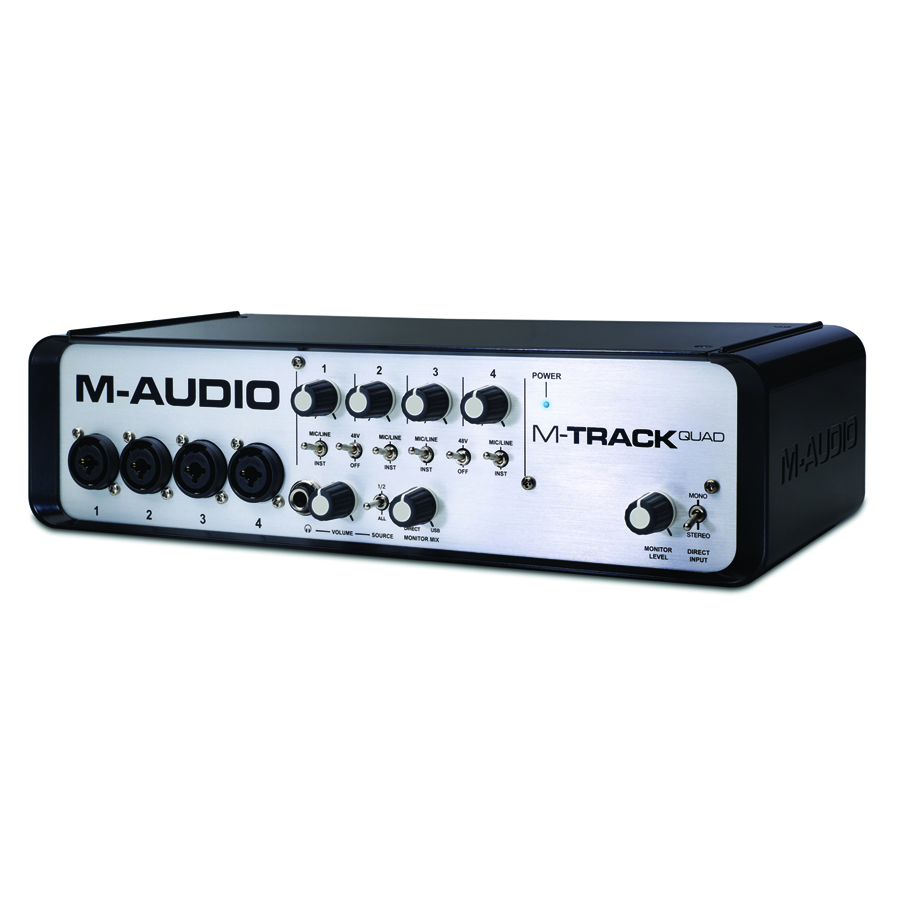 M-Audio M-Track Quad USB - Audio Interface