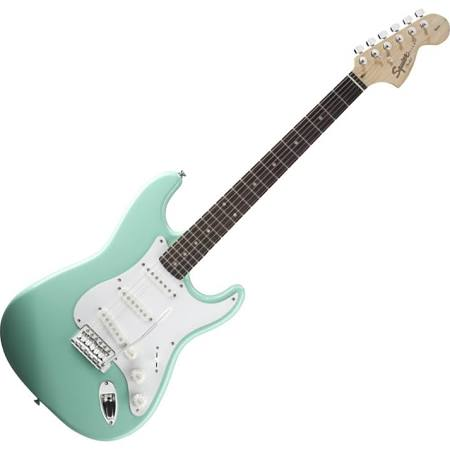 Squier Affinity Stratocaster Surf Green/Rosewood Electric Guitar