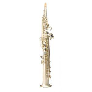 Trevor James '88 Horn Frosted Gold Soprano Saxophone