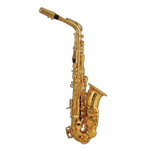 Elkhart  Eb, Gold Lacquer Alto Saxophone
