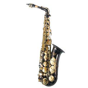 Elkhart  Eb, Black Lacquer Alto Saxophone