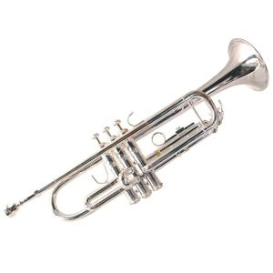 Elkhart  Bb, Silver Plated Trumpet
