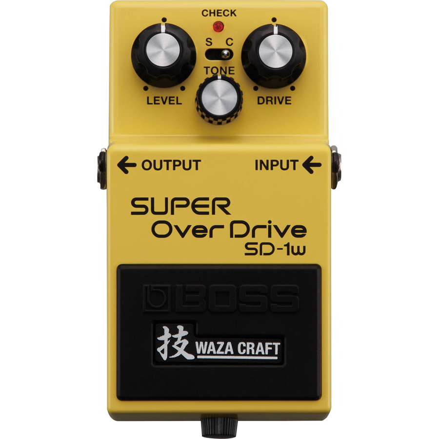 Boss SD1W Waza-Craft Overdrive Pedal