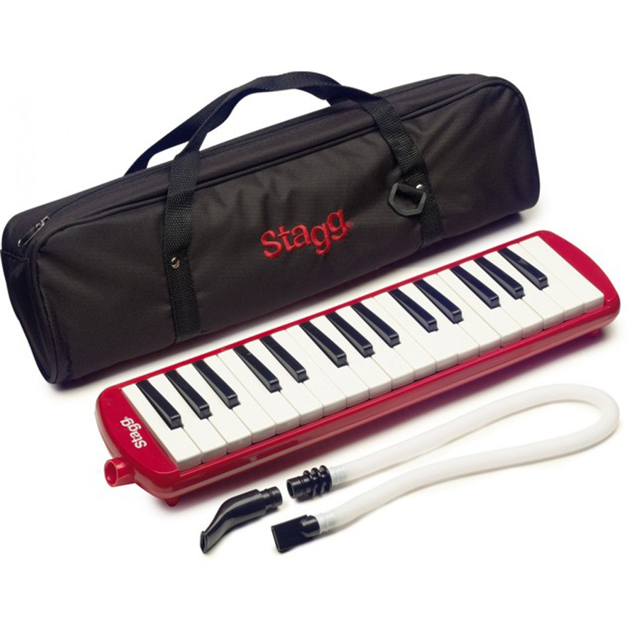 32 Note Red Melodica
