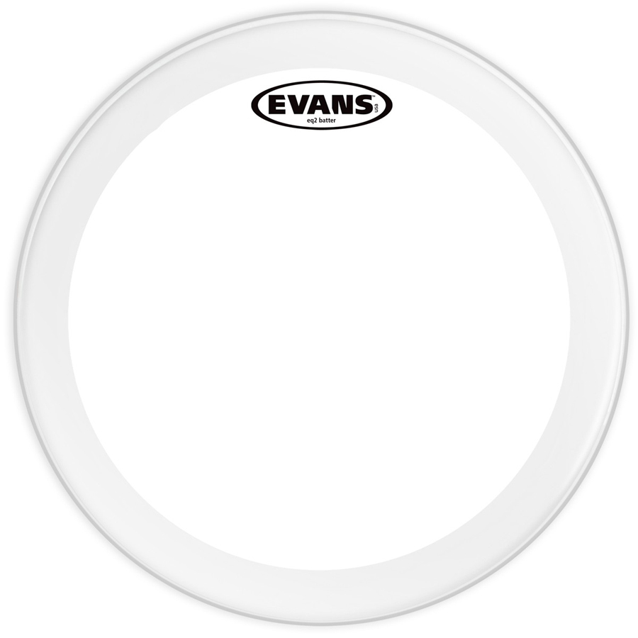 "Evans BD20GB2 22"", Clear Bass Drum Head"