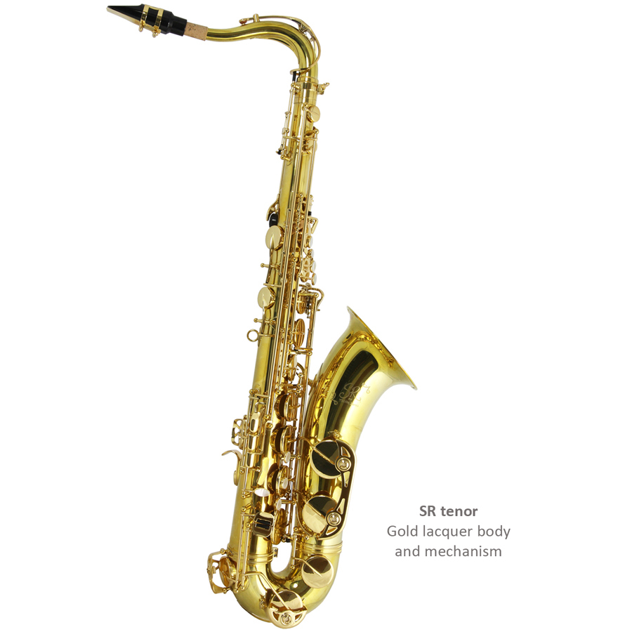 Trevor James SR Gold Lacquer Tenor Saxophone