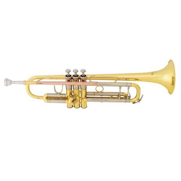 Bach TR400 Bb, Gold Lacq Trumpet