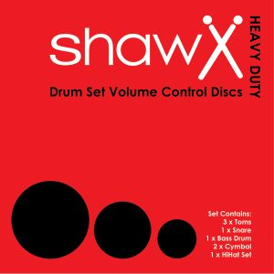 Shaw Volume Control Fusion & Cymbal Set Practice Discs