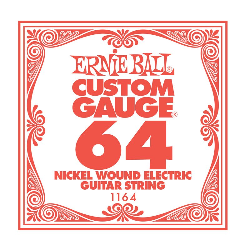 Ernie Ball Nickel Wound .064 Guitar String