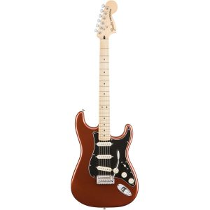 Fender Deluxe Roadhouse Stratocaster MN/CLassic Copper Electric Guitar
