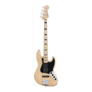 Fender Deluxe Active Jazz Bass Maple/Natural Bass Guitar