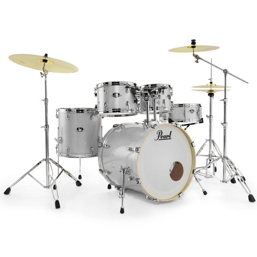 Pearl Export EXX Fusion - Arctic White Drum Kit