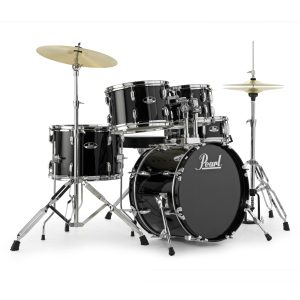 Pearl Roadshow Rock - Jet Black Drum Kit